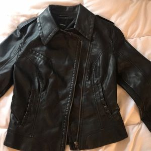 NEW WITH TAGS Express Leather Jacket